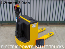 Pedestrian Operated Pallet Trucks