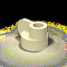 Candela Kerzenständer von Pott Gelb