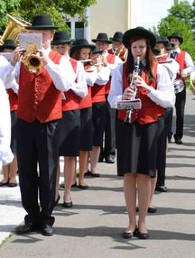 Musiker, Hainersdorf, Musikverein Hainersdorf, Musikverein