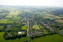 Cuxhaven-Oxstedt aus der Vogelperspektive
