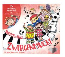 Zwergenmucke CD Cover - Kinderlieder