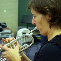 Bild Blaskapelle Meeder - Trompete ausprobiert