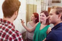 Management visuel pour une définition lean management performante et collaborative.