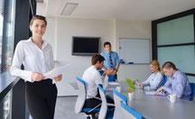 Séances de codéveloppement professionnel pour 5 à 8 personnes.