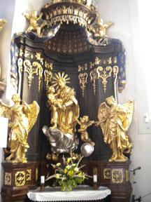 Seitenaltar Josef der Nährvater
