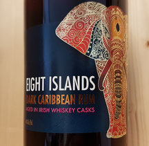 Eight Islands Dark Carribean Rum