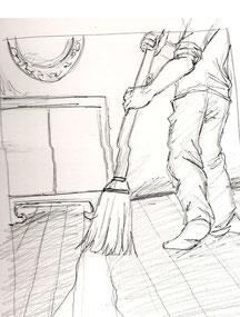 'A new broom sweeps clean.'