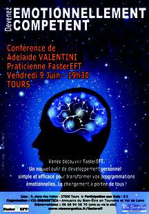 Conférence de Adelaide Valentini à Tours - FASTEREFT - annuaire de thérapeutes Via Energetica