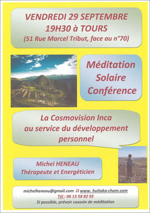 Conférence de Michel Heneau - annuaire de thérapeutes Via Energetica
