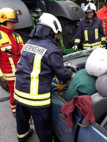 Feuerwehr Bollingstedt beim Übungsdienst