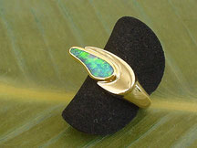 Ring Gold 750/- mit Opal