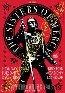 sisters of mercy, sisters of mercy poster, sister of mercy concert