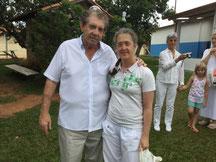 J'ai chois de faire une photo avec Joao de Deus pour me souvenir et me soutenir dans mon engagement a service