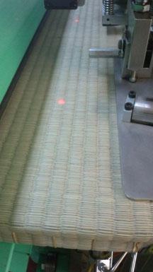 賃貸物件の畳の表替え 最新の機械「畳返し専用機」かわいい