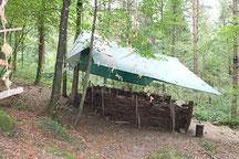 Grosszügiges Waldsofa