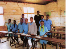 Die Partnerschule in Mazobe/ Zimbabwe