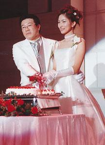 十数年前の結婚式(若い・笑)