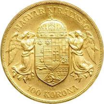 1908 Hungary 100 Korona