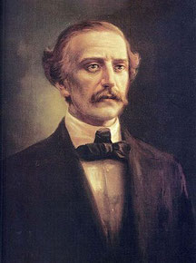 Juan Pablo Duarte, retrato de Abelardo Rodríguez Urdaneta. Foto: (cc) wikipedia.org
