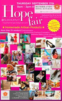 #hope#fair#hopefair#bangkok#tinarts#september2015