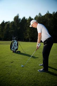 Besser zielen - besser Golf spielen. So richtest du dich immer richtig aus! - © Fabian Bünker
