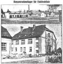 Aus einem Artikel über das KZ Dachau, Mündener Nachrichten, 25. März 1933. Foto: Bons/Boguslawski