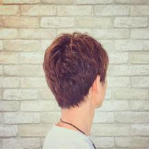 千葉市理容室Barber-salon-Revaカラー&パーマスタイル写真