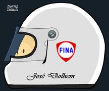 Helmet of Jose Dolhem by Muneta & Cerracín