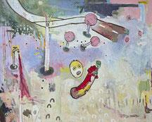 Hellert, 60x60 cm, Acrylfarbe. Leinwand, Thomas Anton Stribick