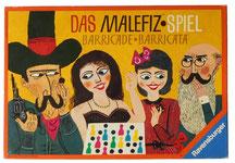 Schachtel von Malefiz (Barricade) - Quizspiel für Grammatik, Landeskunde und Lexik im DaF-Unterricht