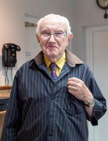 Gerrit Prophitius op 94 jarige leeftijd.