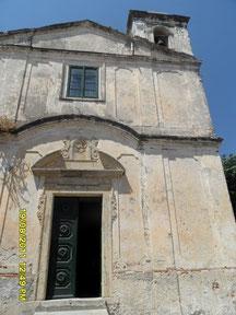 Kirche in Gerace, Kalabrien, Urlaub, Ferien in Kalabrien
