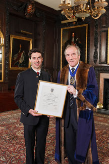 Master of Wine ceremony with Michael Cox (1951-2014), Master of the Worshipful Company of Vintners