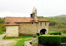 Sur les traces des pèlerins de St Jacques à OSTABAT,  le tour des chapelles d'Arambeltz et de Soyartza