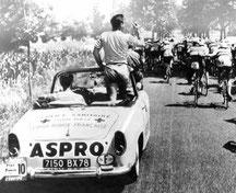 SIMCA OCÉANE    SERVICE SANITAIRE      Tour de France 1958