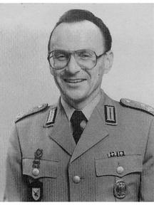 Foto von Oberstleutnant Nekolla