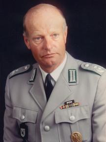 Foto von Oberstleutnant von Saldern