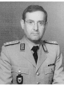 Foto von Oberstleutnant Millotat