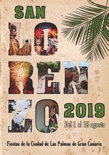 Cartel de las Fiestas de San Lorenzo 2015 en Las Palmas