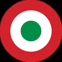 La coccarda tricolore introdotta dall'Aeronautica Cobelligerante