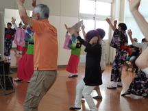 2019年6月13日(阿波踊り体験会)