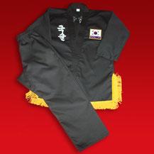 Uniforme de cinturón negro