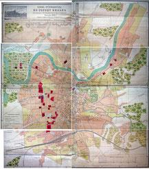 Vilniaus miesto turistinis 1898m. planas /...