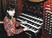 Passau - Organistin Helga Schauerte