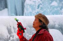 氷点下の森 氷の王様 小林さん