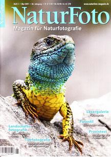 Titelseite NaturFoto Heft 5, Mai 2019