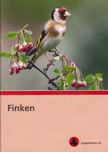 Broschüre über Finken