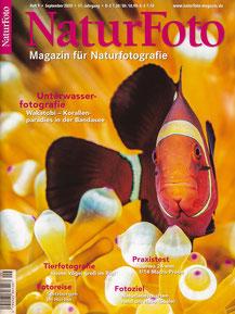 Titelseite NaturFoto Heft 9, September 2020