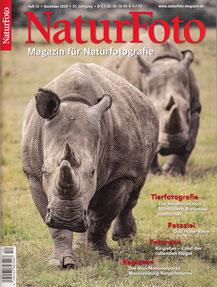 Titelseite NaturFoto Heft 12, Dezember 2020