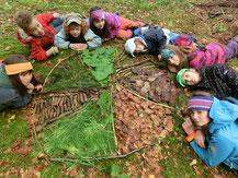 Kreativ in der NAtur Umweltbildung